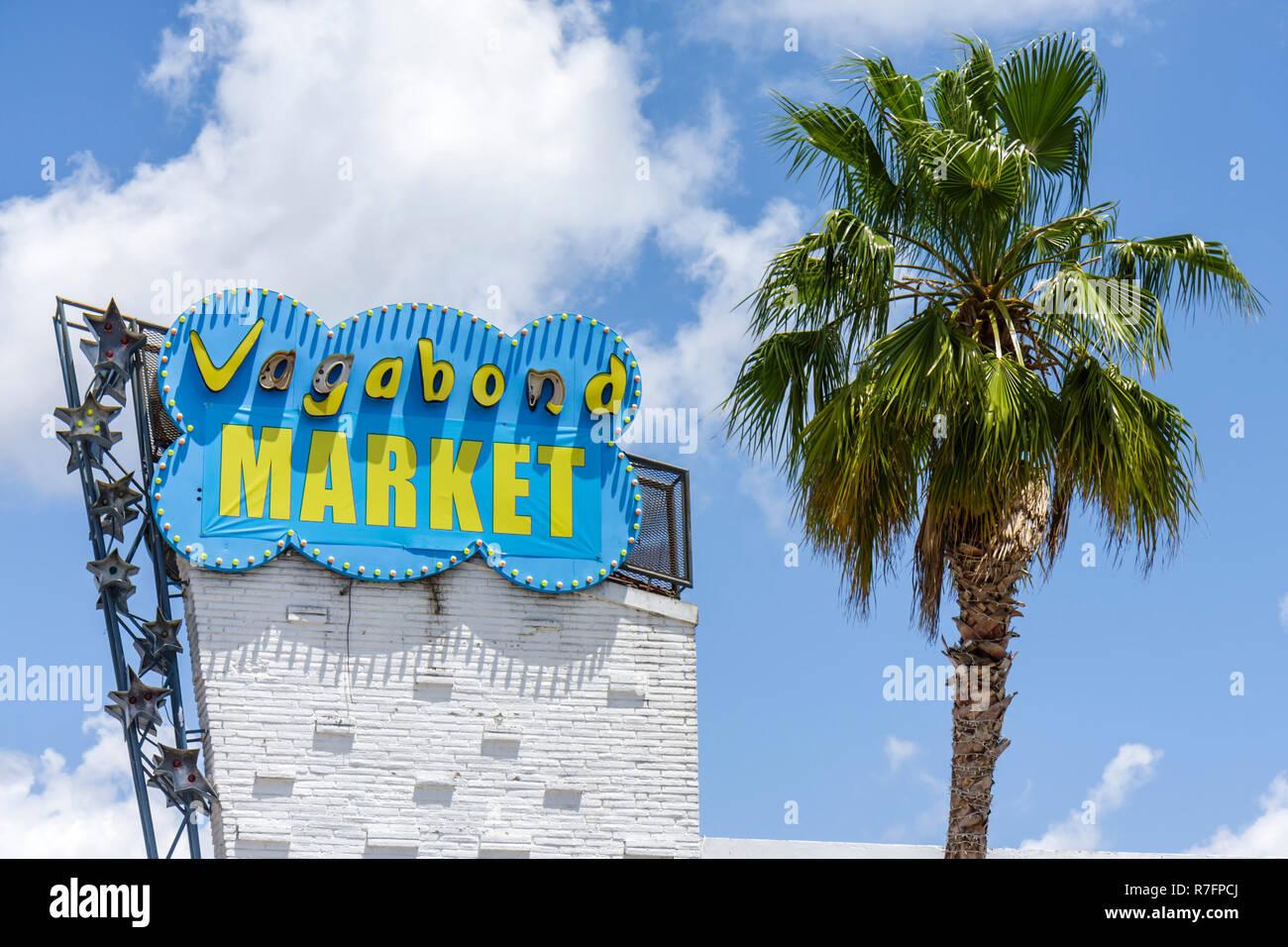 Floride, FL, Sud, Miami, quartier historique de Biscayne Boulevard, Miami Modern Architecture, préservation historique, Vagabond Motel, hôtel lodgin Banque D'Images