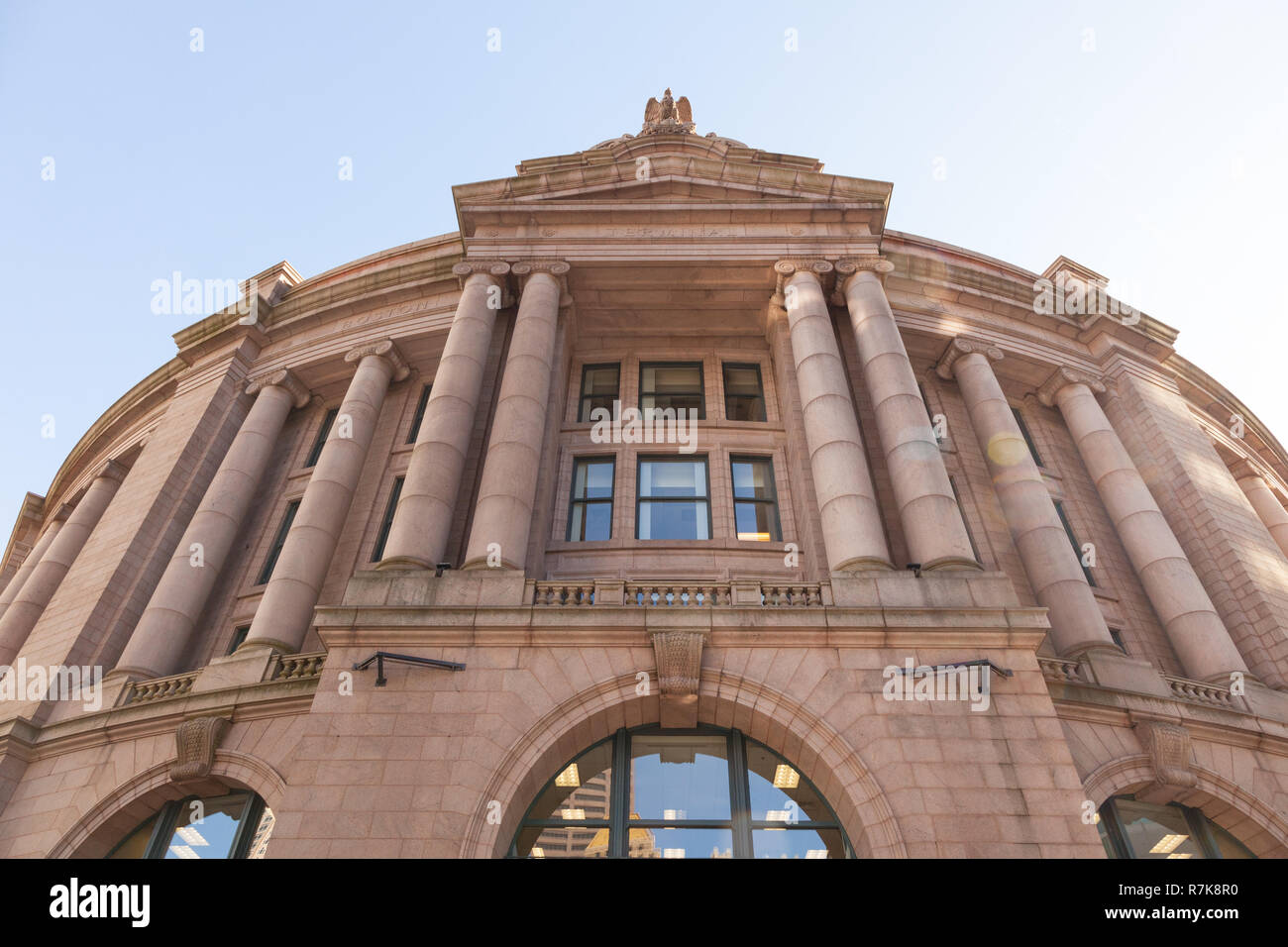 La gare du sud, Boston, Massachusetts, États-Unis d'Amérique. Banque D'Images