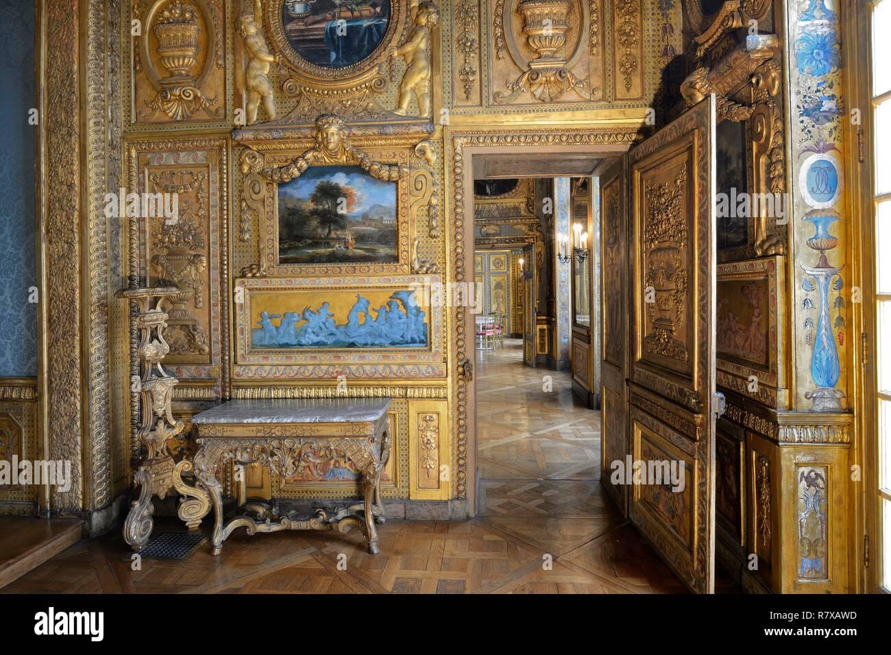 France, Paris, l\'île Saint Louis, l\'hôtel de Lauzun, la ...