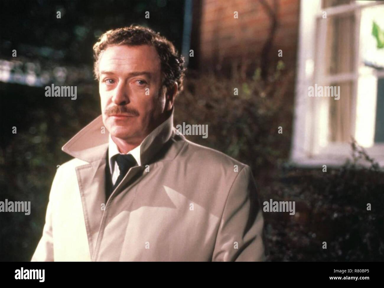 L'HOMME Evangrove 1983 JIGSAW film avec Michael Caine Photo Stock