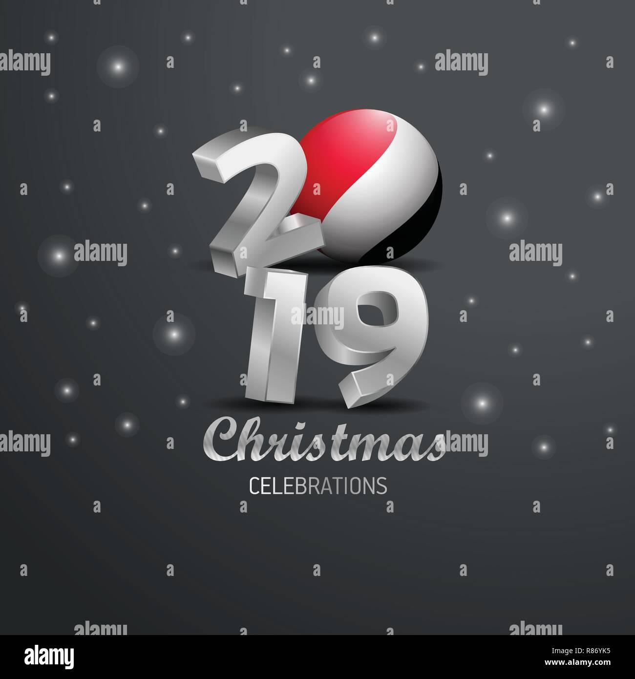 Image De Joyeux Noel 2019.Principaute De Sealand Drapeau Joyeux Noel 2019 La