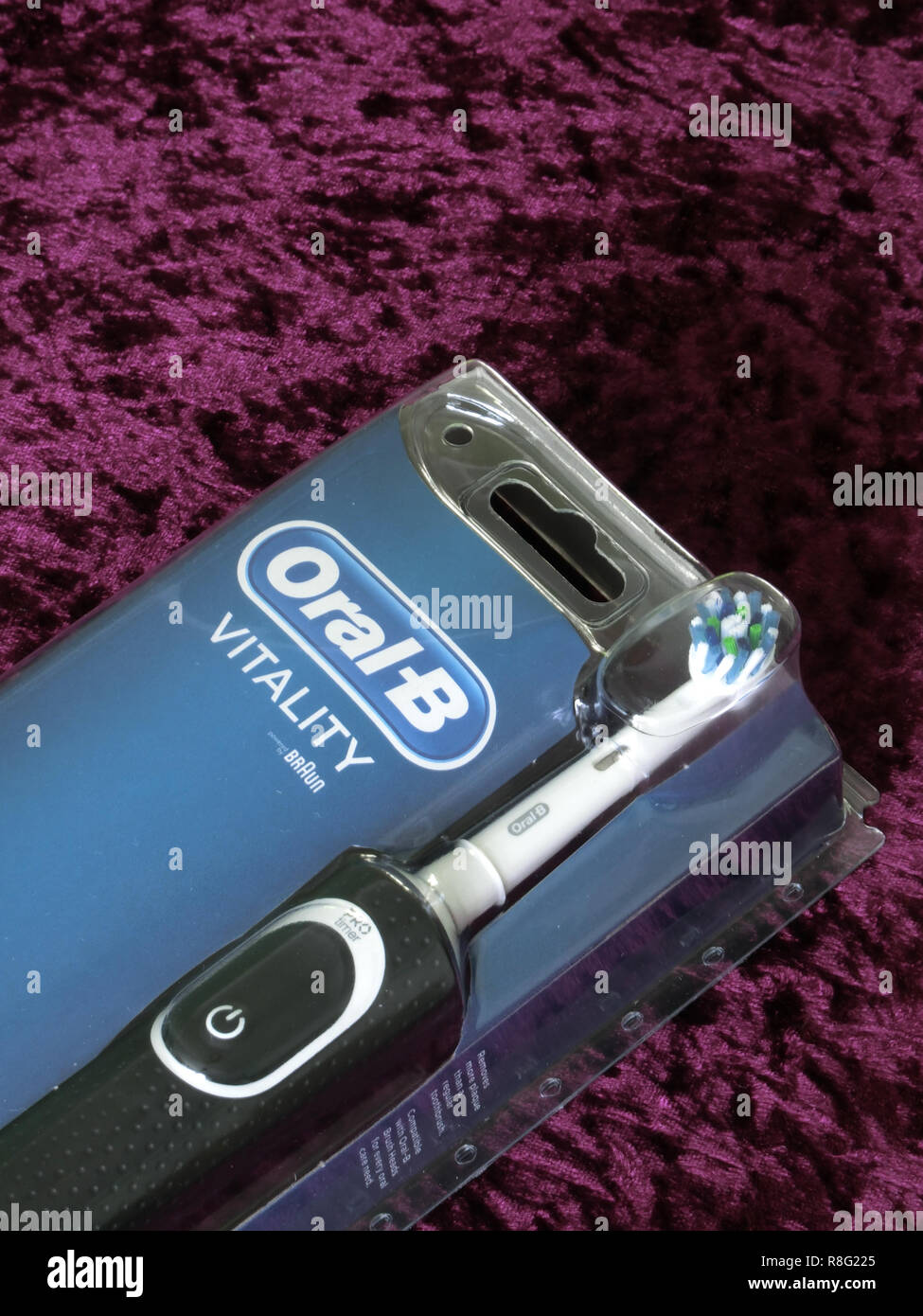 Oral-B Vitality brosse à dents électrique Photo Stock
