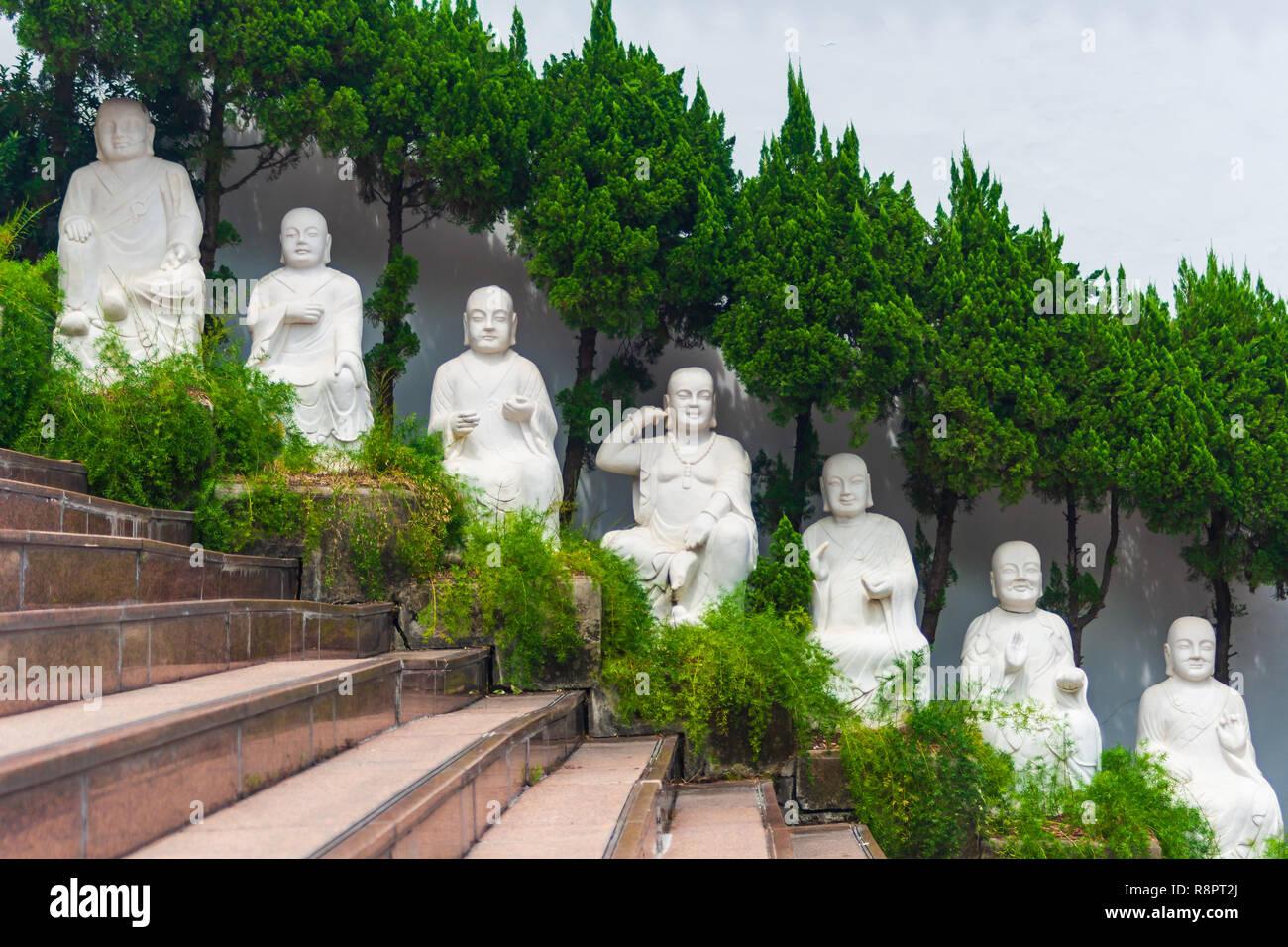 Temple bouddhiste de Taiwan Photo Stock