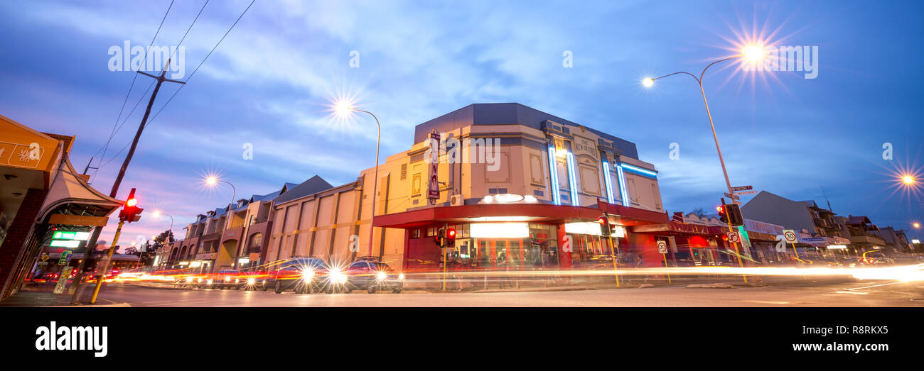 Luna Cinéma, Leederville, Perth, Australie occidentale Photo Stock