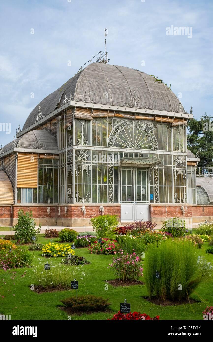 France, Loire Atlantique, Nantes, le Jardin des Plantes, serre ...