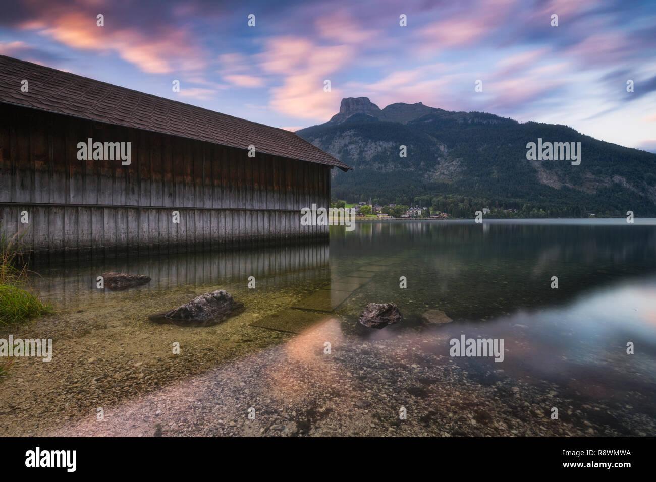 Altaussee, Autriche Banque D'Images