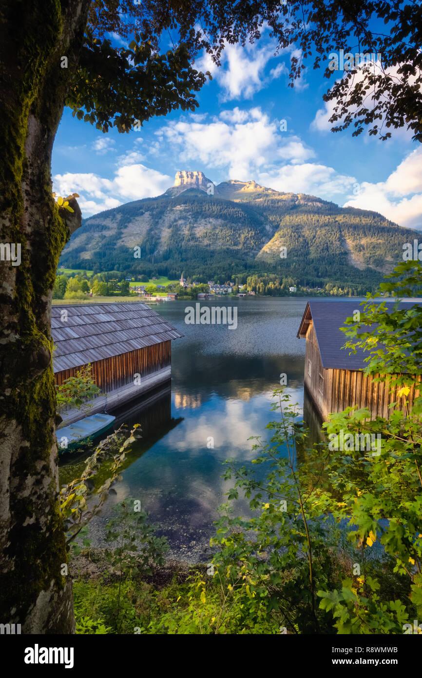 Altaussee, Autriche Photo Stock
