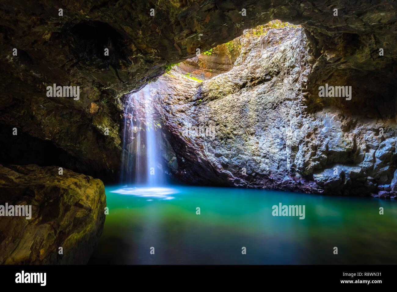Grotte Cascade Photo Stock