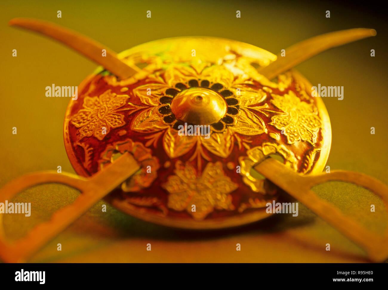 Concept, épée et Bouclier Photo Stock
