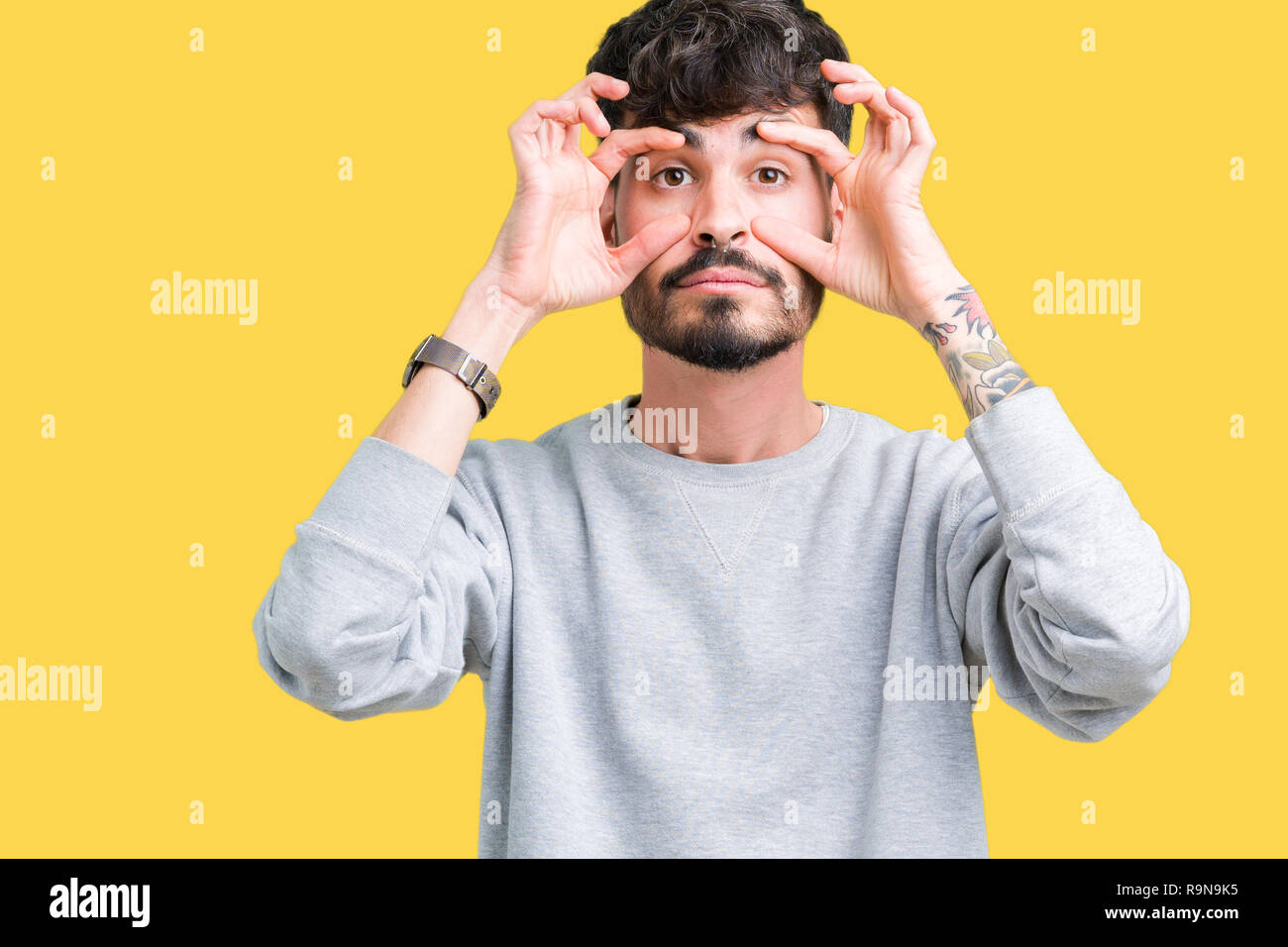 Insomnia Man With Beard Photos   Insomnia Man With Beard Images - Alamy a662cd1034fe