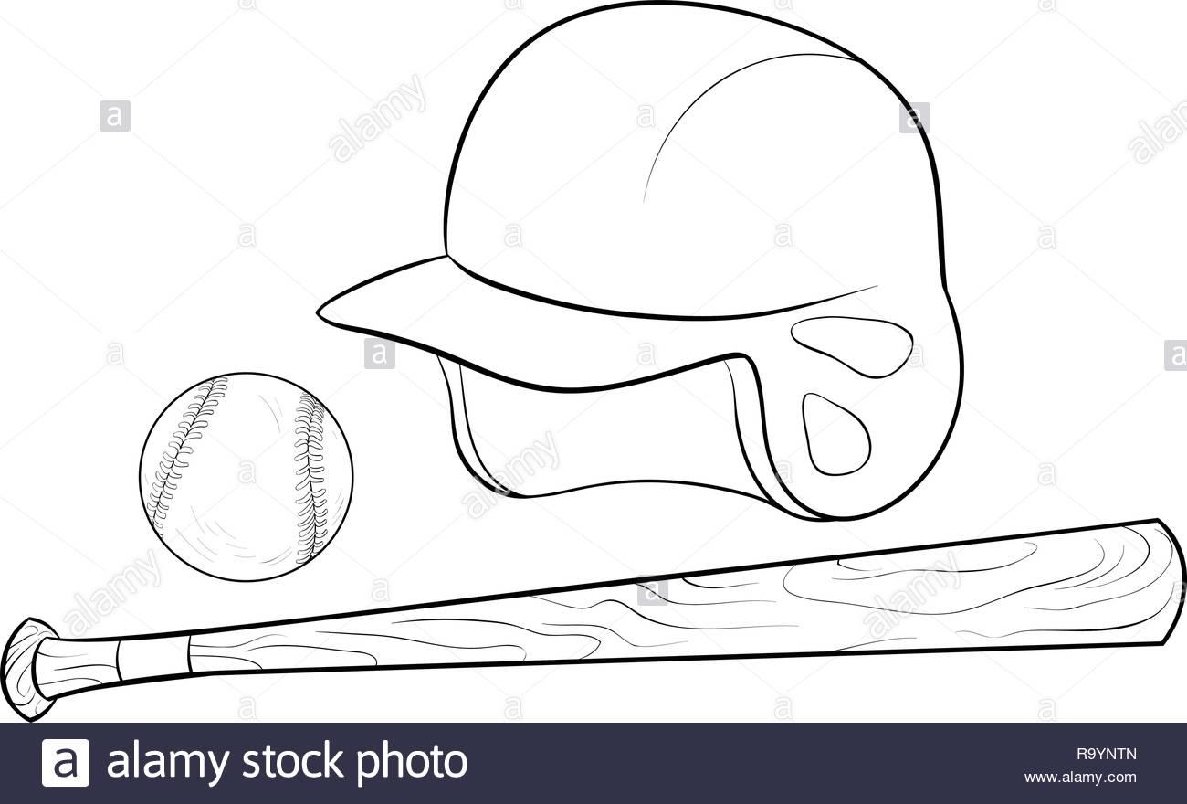 Une Serie De Dessin Anime Baseball Jeu Libre Pour Activite