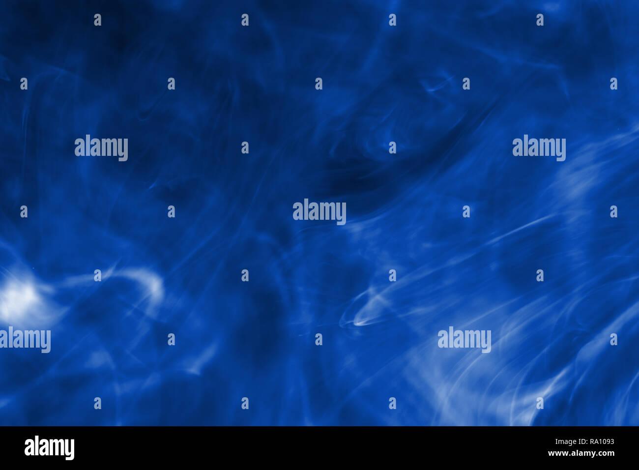 1d8740c607d D encre couleur bleu coulait dans l eau. Résumé de fond d encre de couleur  bleue.