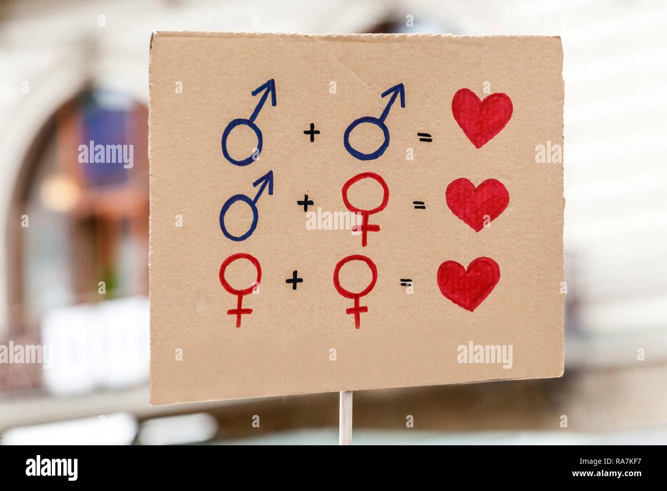 l'étiquette de datation transgenres