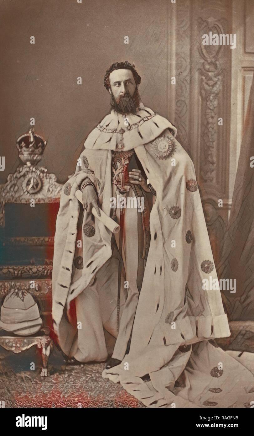 Son Excellence Lord Lytton, vice-roi et gouverneur général de l'Inde, Bourne & Shepherd (anglais, fondé en 1863), Londres repensé Banque D'Images