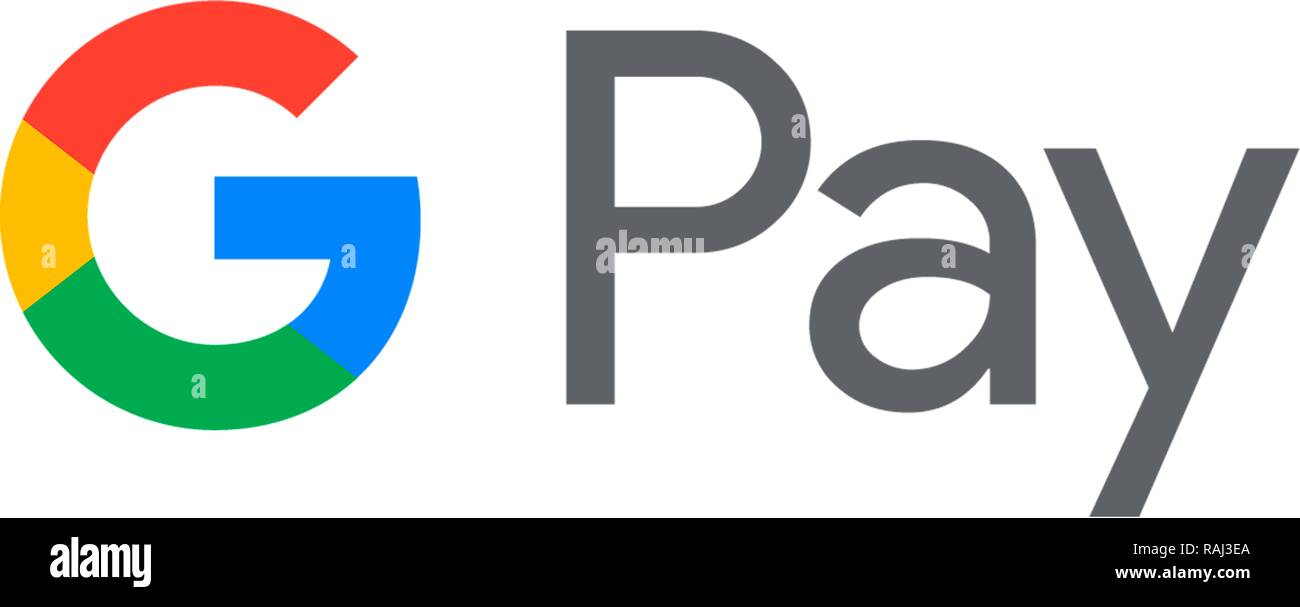 G Payer, Payer Google, option de paiement mobile de Google, Logo, Allemagne Photo Stock
