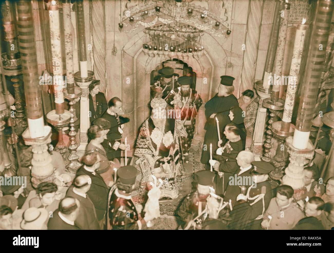 Calendrier 1941.Calendrier Des Ceremonies Religieuses A Jerusalem Paques