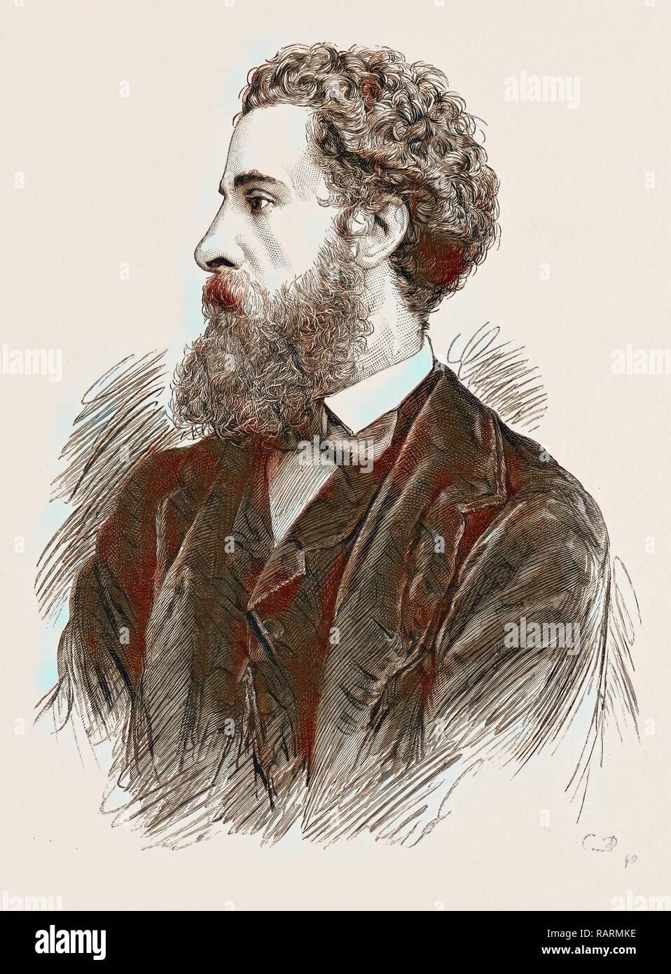 Le très honorable. LORD LYTTON, LE NOUVEAU VICE-ROI ET GOUVERNEUR GÉNÉRAL DE L'Inde, 1876. Repensé par Gibon. L'art classique repensé Banque D'Images