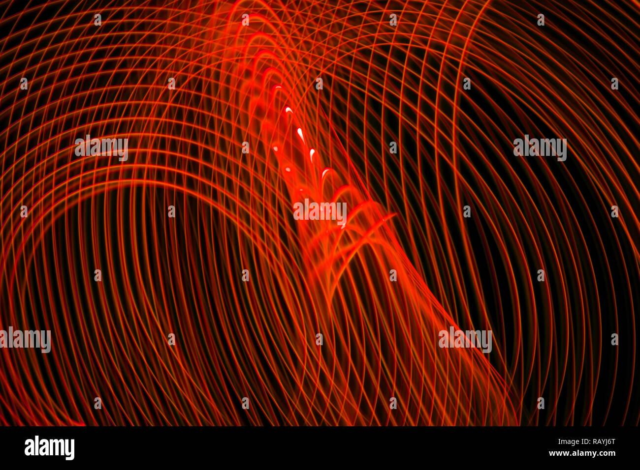 Résumé fond horizontal et vertical de l'interruption des rayures rouges. Arrière-plan de l'affiche pour l'effet glitch, couvrir, concept design, bannières, prés Banque D'Images