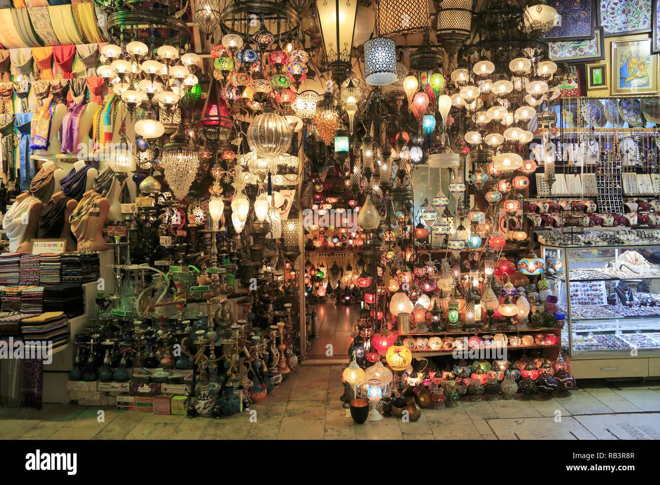 a798480ddc24 Grand Bazar, Kapali Carsi, Marché, Vieille Ville, Istanbul, Turquie, Europe