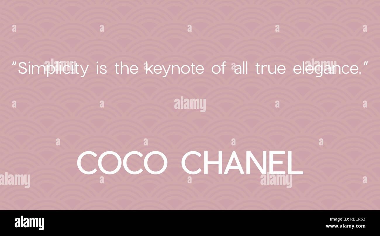 Fashion Coco Chanel Photos   Fashion Coco Chanel Images - Alamy 1684d5da896