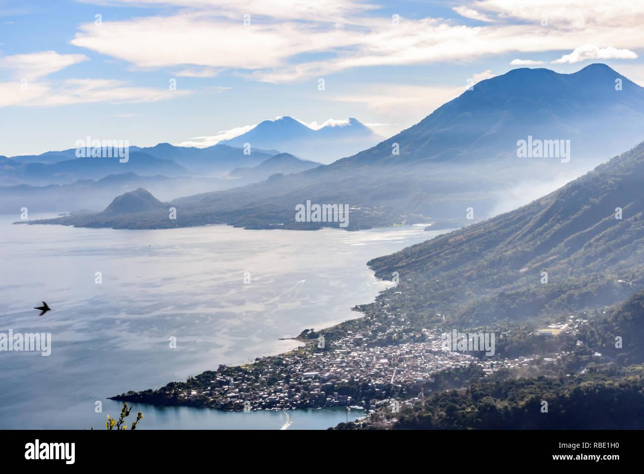les villages indiens du lac atitlan guatemala