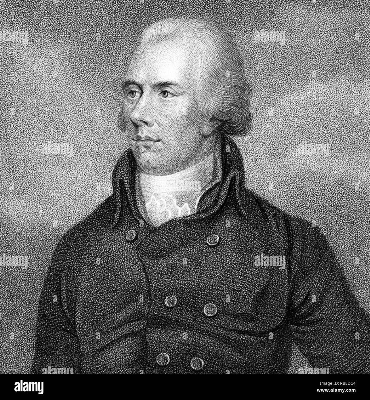 WILLIAM Pitt le Jeune (1759-1806) Premier ministre conservateur britannique Photo Stock