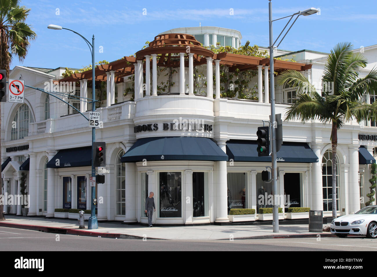 where to buy uk availability detailed look Brooks Brothers Beverly Hills Banque D'Images, Photo Stock ...
