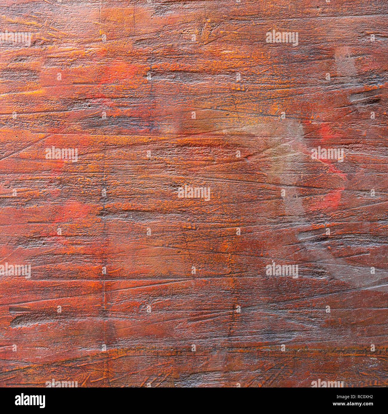 La texture de corail vivant. Grunge fond de couleur, mur. Photo Stock