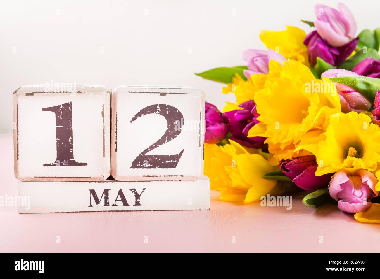 Usa Fête Des Mères 12 Mai 2019 Tulipes Et Fleurs De Narcisses