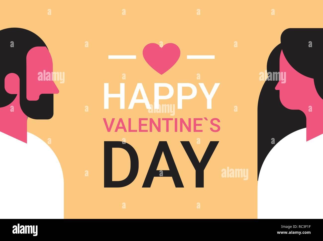 Couple A L Autre Concept De Vacances Happy Valentines Day Homme