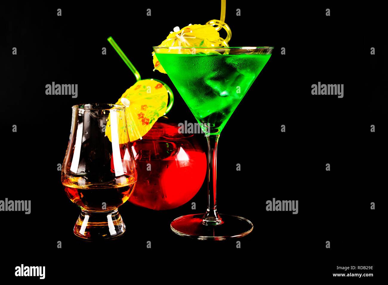 liqueurs et sirops