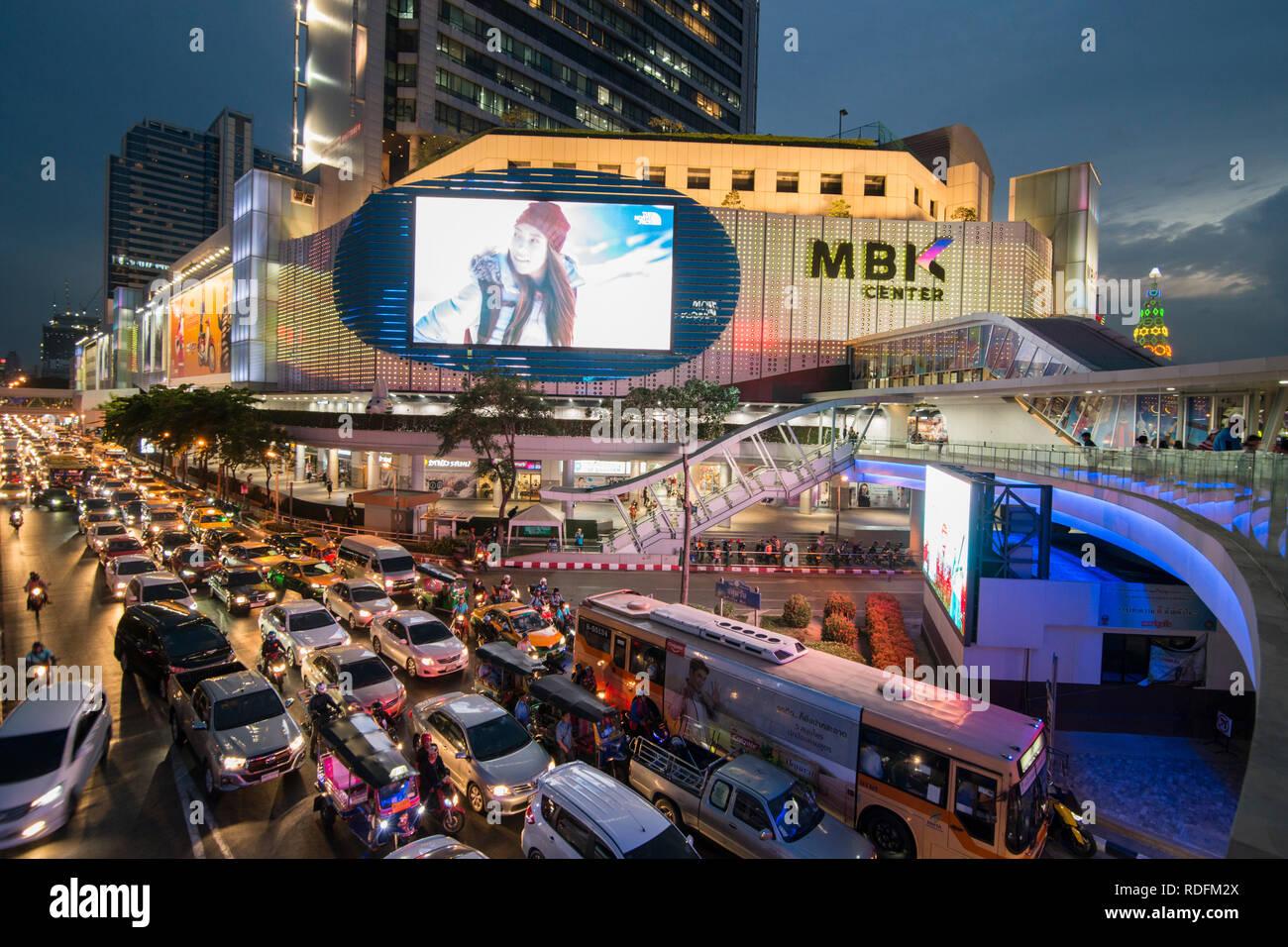 ab627f3eec Le centre commercial MBK à Sian Square dans la ville de Bangkok en  Thaïlande en Southeastasia