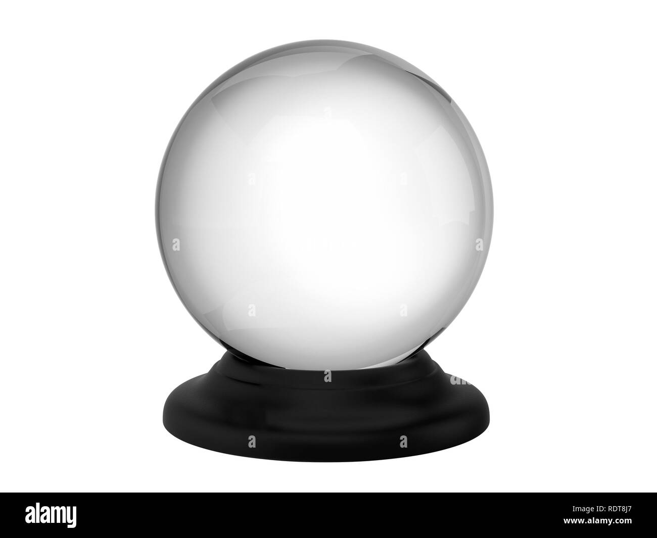 Magic Crystal Ball Banque D'Images