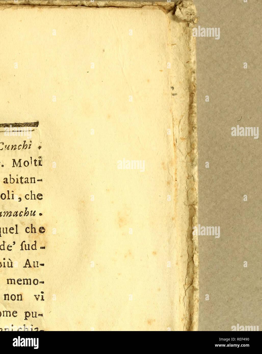 """. Compendio della storia naturale, geografica, e civile del regno del Chili. Histoire naturelle; Indiens Mapuche; Indian linguistics; Mentions Légales 1776. )( 243 )( legg. Pehuèpouces; e. l'ONU 63. Giunchi: legg. Ornchì; Par*. JìJ /&gt;*/. 119. Â"""". La propriété intellectuelle. #** X8- â- pervadono Amot Moki fi, che la bella carnagione degli abitan- ti di Boro* cinéma Abbia origine da' prigioni Spagnuolì rimafero; che vi le copo vittorie del Paillamachu Toqui. ¨ à ma e' una ra, Ione ,¬ftrugge , che dà par quel eh© mi pôle r^querV opinione. La maggior parte de'ad- detti prigioni fu confinata nelle Provincie più tous- ibali degli Arauca Banque D'Images"""
