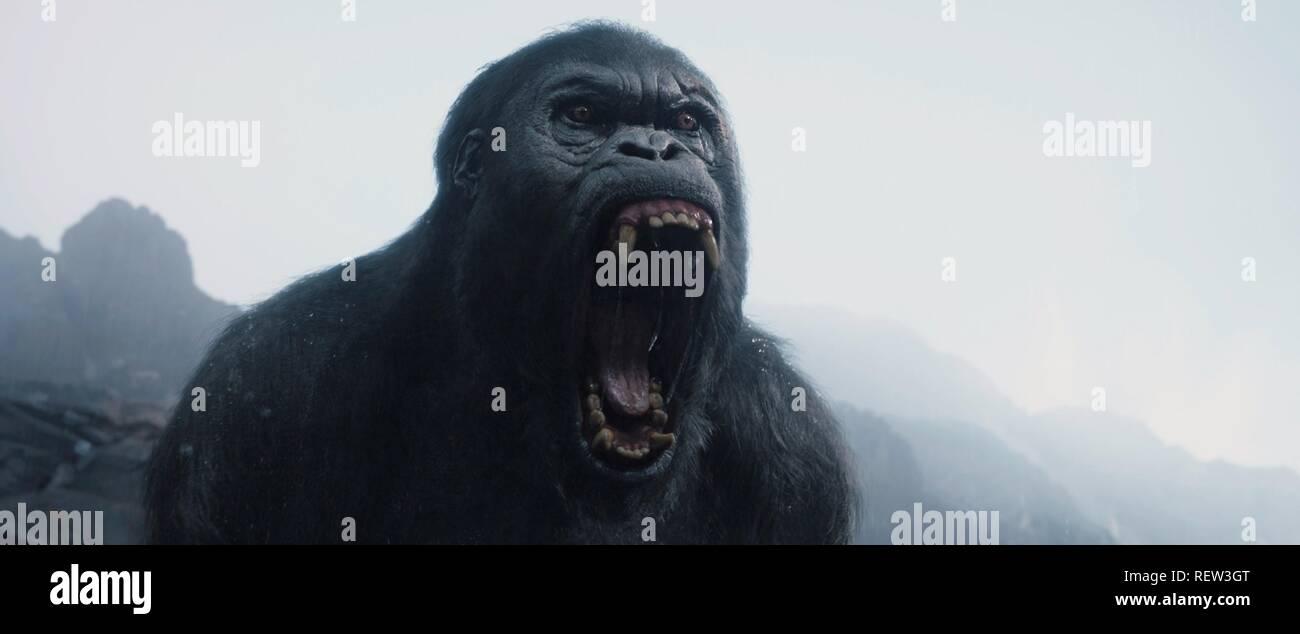 La légende de Tarzan Ape (2016) Photo Stock