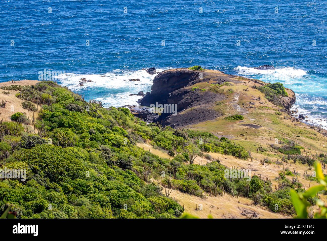 Castries Sainte-lucie l'une des îles Windward dans les Caraïbes. Banque D'Images
