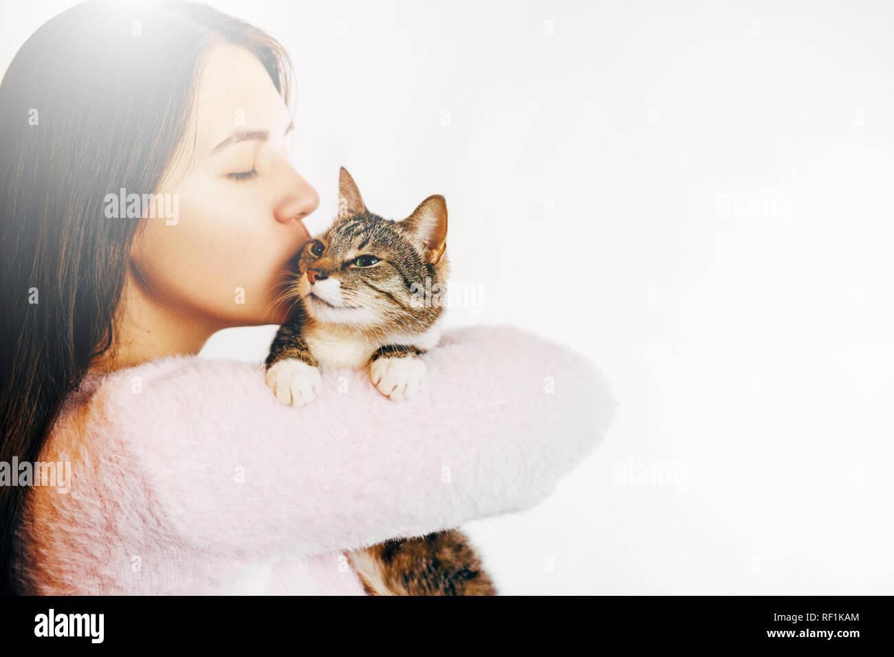 adolescent fille chatte lécher