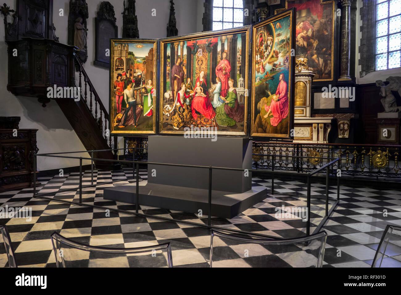 Portail Des Flandres Salome st john altarpiece photos & st john altarpiece images - alamy