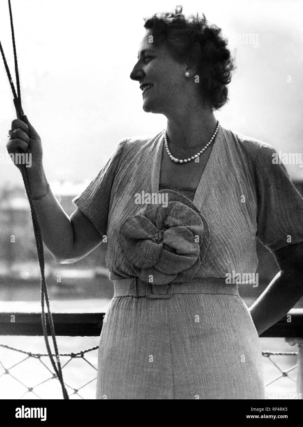Maria Cristina bezzi-scali, 1936 Banque D'Images