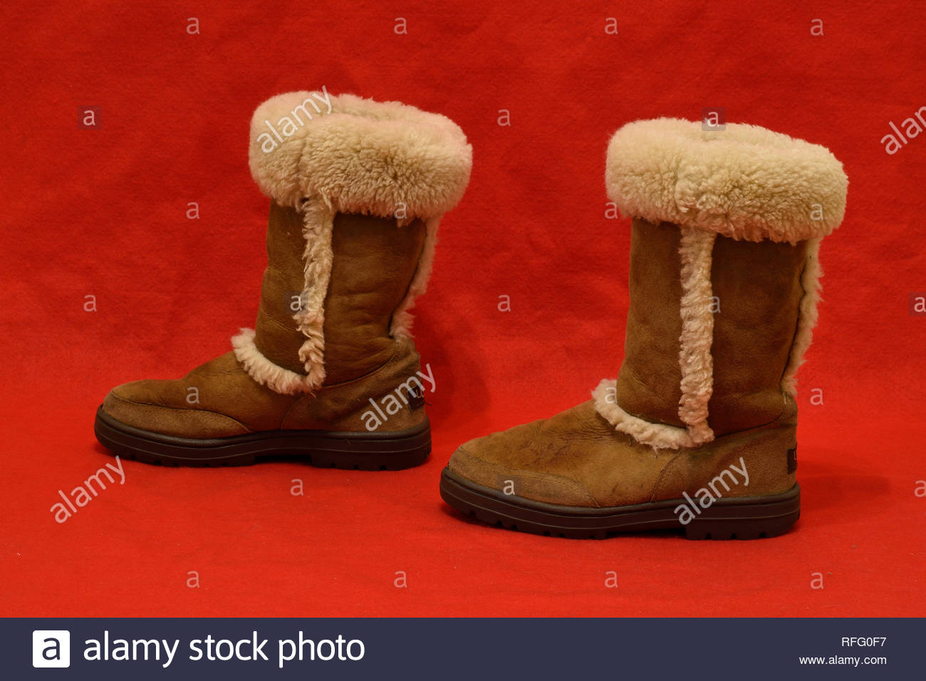 botte uggs blanche