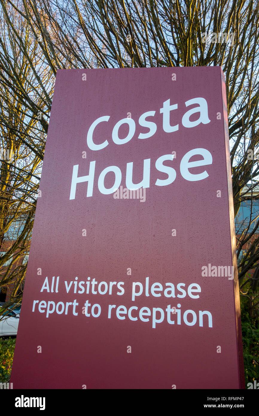 Costa House, siège social pour le Costa Coffee, Dunstable, UK Photo Stock