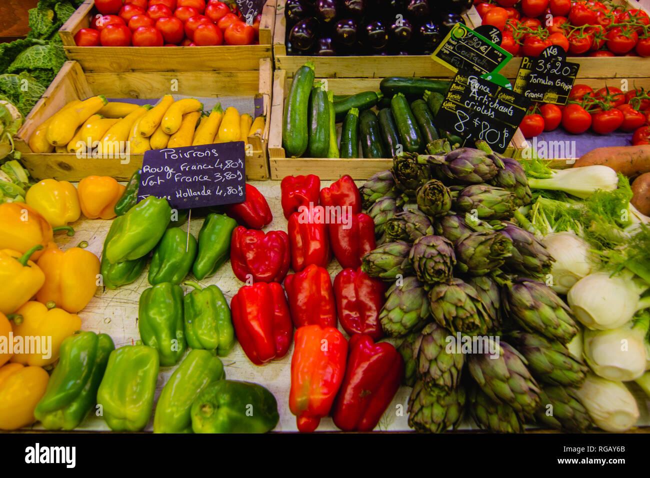 Régime végétal équilibré Photo Stock
