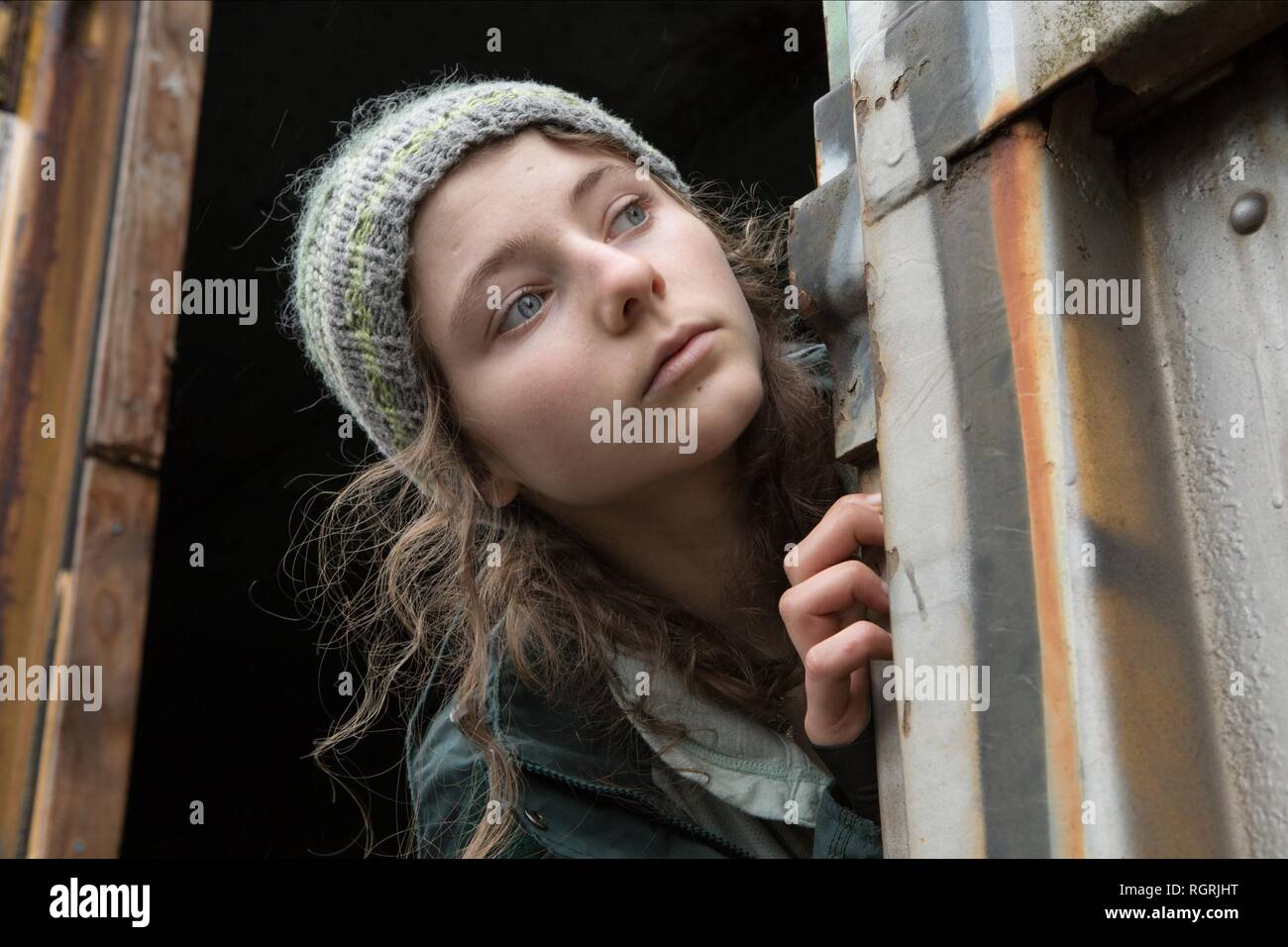 THOMASIN MCKENZIE Leave No Trace (2018) Photo Stock