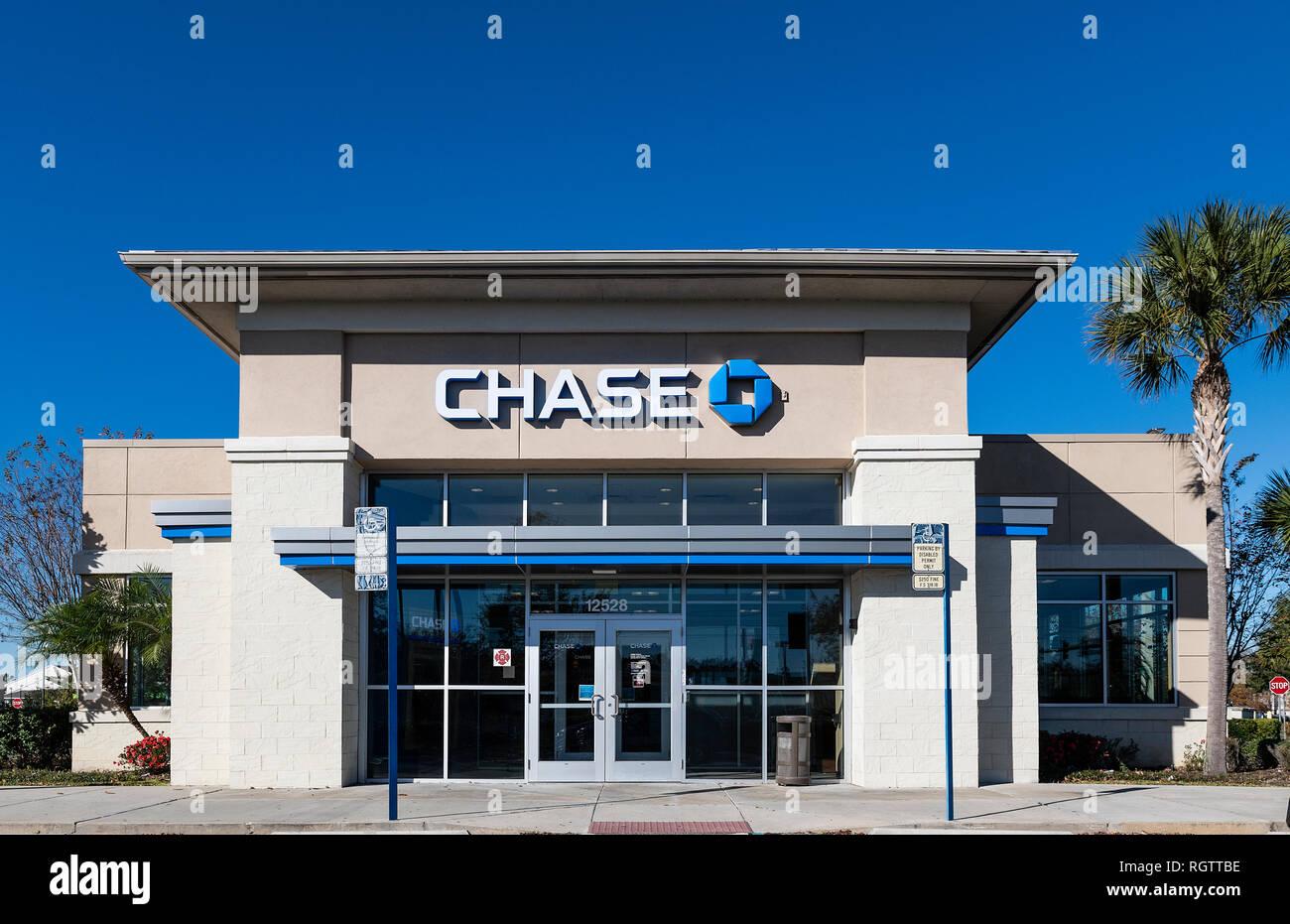 Chase Bank Branch, Orlando, Floride, USA. Photo Stock
