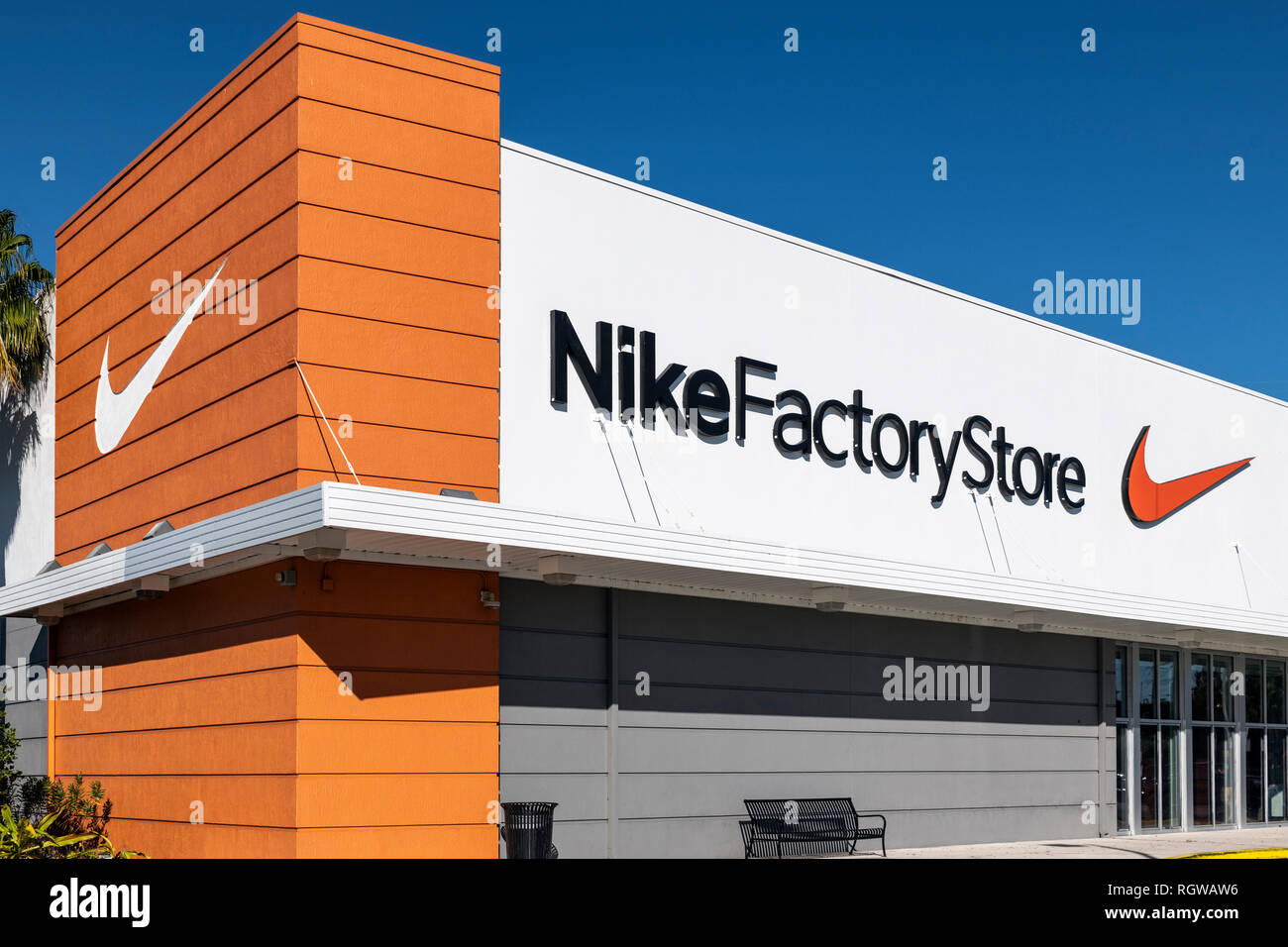 Magasin Nike factory outlet, Kissimmee, Floride, USA Photo