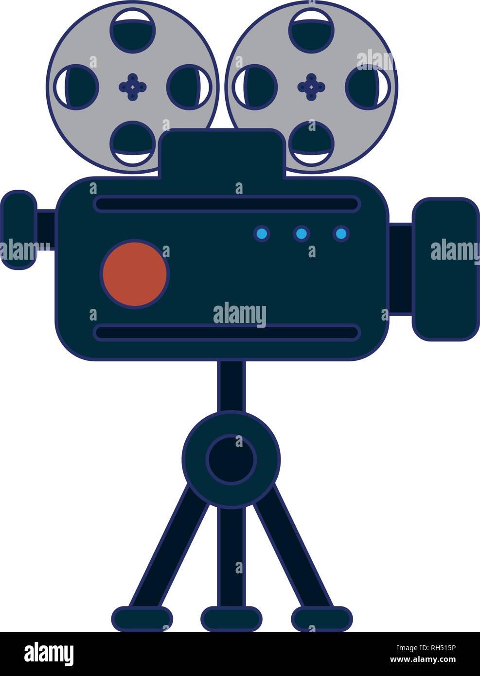Caméra professionnelle Illustration de Vecteur
