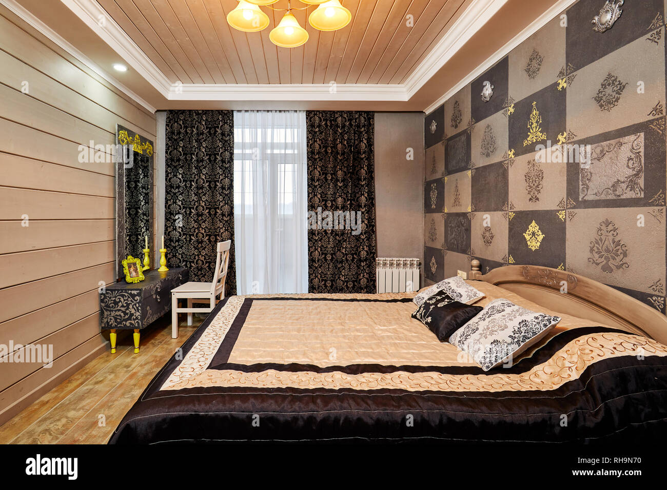 Decoration Chambre Coucher moscou, russie, 02.01.2019 : décoration et conception de
