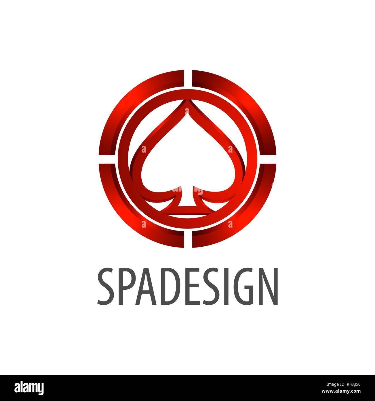 Logo chat inscription concept design. Trois dimensions 3D style. Modèle de graphique vectoriel de l'élément symbole Photo Stock