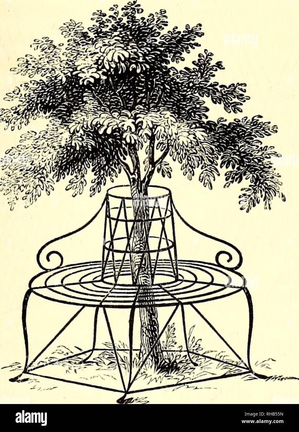 Le livre du jardin. Le jardinage. Sièges et de repos. 691 ...