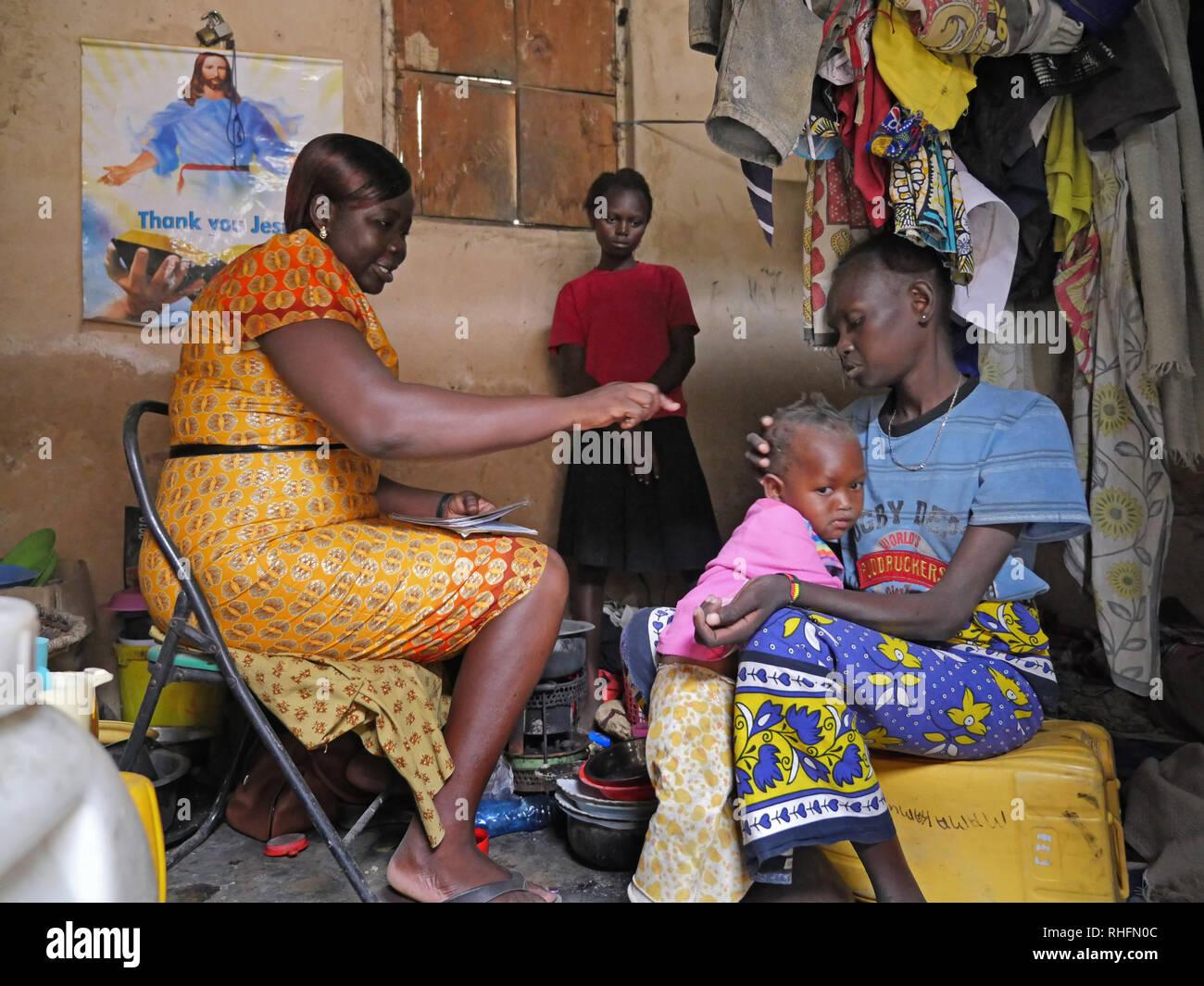 KENYA Mombasa, le bidonville du Bangladesh. Caroline Osong
